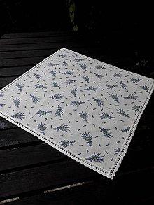 Úžitkový textil - STŘEDOVÝ UBRUS ..54 x 54 cm krajka - 7191961_