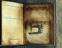 Papiernictvo - Vintage Diár 2021 - 7192454_