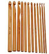 - Sada 12tich bambusových háčikov - 7191482_