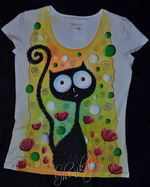 31cd1fabb0a2 Dámske maľované tričko   henkap - SAShE.sk - Handmade Tričká