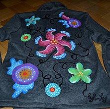 Kabáty - Ručne maľované veselé sako - 7191730_