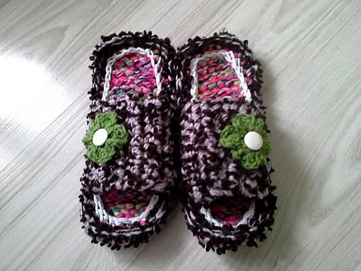 af73234287cb5 Papučky... / vviera - SAShE.sk - Handmade Obuv