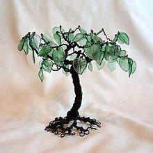 Dekorácie - Stromček - 15 cm - 7196274_