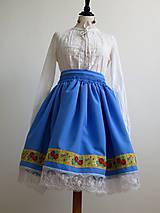 Sukne - folklórny dievčenský kroj - Piešťany I. - 7196200_