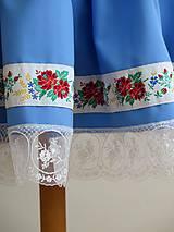 Sukne - folklórny dievčenský kroj - Piešťany II. - 7196241_
