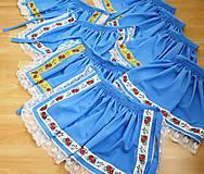 Sukne - folklórny dievčenský kroj - Piešťany II. - 7196243_