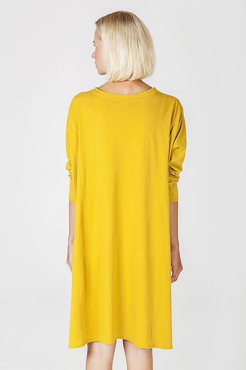 Žluté úpletové šaty   DesignDictat - SAShE.sk - Handmade Šaty 8fd6f8fa68