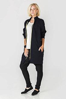 Kabáty - Černý kabát - 7194856_