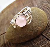 Prstene - ruženín na želanie - 7194178_