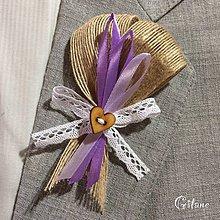 Pierka - Veľké svadobné pierka Ruban - Jute - 7195044_
