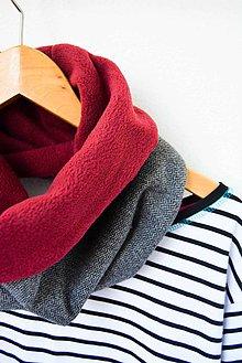 Šály - _CHiC & Elegance... VLNa... Fishbone & Grey... UNiSeX - 7199744_