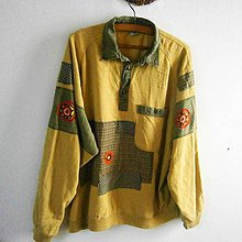 0ec029a6d Žlutá úpletová mikina / DesignDictat - SAShE.sk - Handmade Mikiny