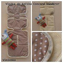 Textil - CONCORD vložka do kočiarika 100% merino obojstranná - 7199952_