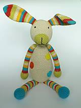 Hračky - Háčkovaný zajac - 7199649_