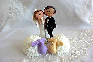 Darčeky pre svadobčanov - Mydlové ovečky - darčeky pre svadobných hostí - 7199190_