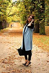 Iné oblečenie - Svetlo modrá vesta - 7198111_
