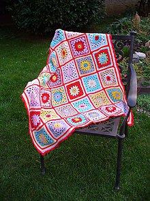 Úžitkový textil - Deka Anička - 7198876_