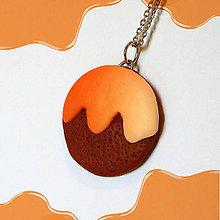 Kľúčenky - Keksík (s pomarančovou polevou) - 7197414_
