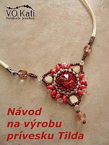 Návody a literatúra - Návod na výrobu prívesku Tilda - 7203934_