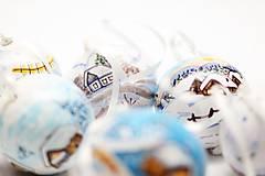 Dekorácie - Vianočné gule - 7201837_