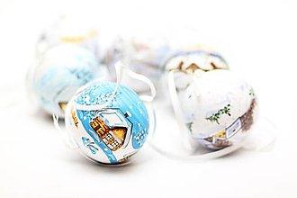 Dekorácie - Vianočné gule - 7201838_
