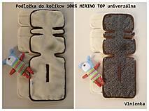 Textil - Vložka 100% merino do kočíka ROAN Marita Prestige - 7203746_