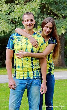 Tričká - Dámske a pánske tričká, párové, etno BUDE MI LEHKÁ ZEM - 7200542_