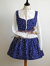 Šaty - set sukňa a lajblík - 7203890_