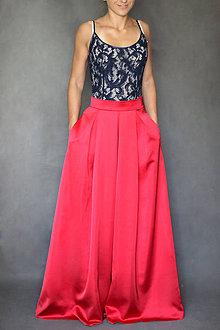Spoločenské šaty s dlhým rukávom a V chrbátom po pás rôzne farby ... ed418598733