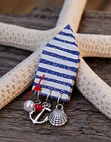 Odznaky/Brošne - Plážový domček s plodmi mora 2 - 7203729_