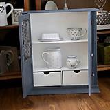 Nábytok - Sivá závesná skrinka - predaná - 7201264_