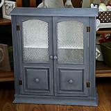 Nábytok - Sivá závesná skrinka - predaná - 7201266_