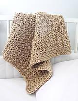Úžitkový textil - Zlatá dečka...SKLADOM - 7201242_