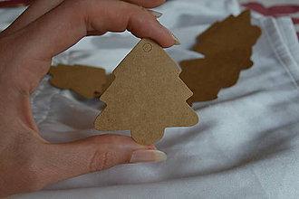Papier - ❄️Kartónové štítky, 5.7x5.5cm, z 0.80 na 0.40€/10ks - 7201441_