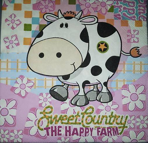 Servítka The Happy Farm