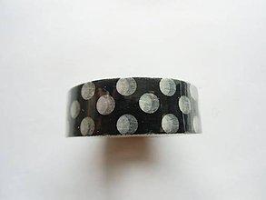 Papier - washi páska - bodky, bodkovaná, ďobky - 7205824_