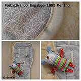 Textil - Bugaboo podložka 100% MERINO TOP celoročná - 7204534_
