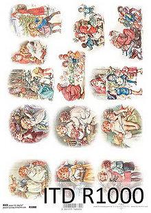 Papier - Ryžový papier Vianoce - 7207776_