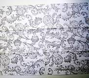 Papier - Servítka FV47-Ornamenty veľkosť XXL - 7205164_