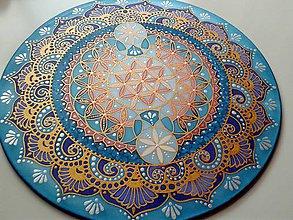 Dekorácie - Mandala Kvet života - 7205237_