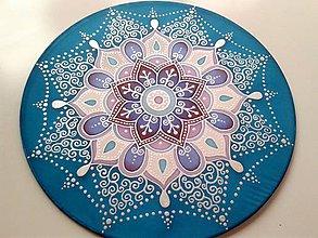 Dekorácie - Mandala komunikácie, intuície a rozhodnosti - 7207118_