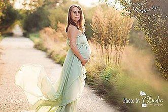 Šaty - Tehotenské šaty na fotenie - 7204721_