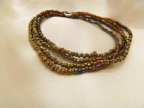 Náhrdelníky - náhrdelník/náramok - 7204931_