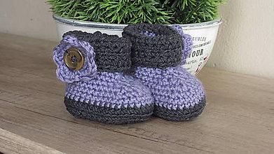 Topánočky - capačky - čižmičky pre najmenších - 7211524  8e2ad528129
