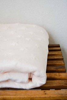 Textil - _BUVI... MiNKy & pastelová marhuľová... deka pre najmenších ♥ - 7212441_