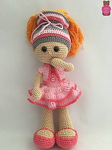 Hračky - Bábika Meg - 7211317_