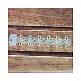 - Šablóna 25x130 mm Kvetinová bordúra - 7211075_
