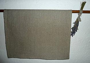 Úžitkový textil - Ľanová utierka - 7211461_