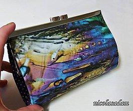 Peňaženky - Rámečková peněženka - DUHOVÁ - 7209777_