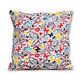 Úžitkový textil - Vankúš Paris Love - 7213020_